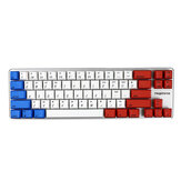 [Gateron Switch] Magicforce Smart 2 68 teclas Bluetooth retroiluminado 4.0 Dual Mode PBT Keycap Mecânico Teclado para jogos para desktop e laptop