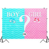 5x3FT 7x5FT Girl or Boy Theme Photography Backdrop Studio Prop Background