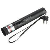 10 Meile 532nm grüner Laserpointer PPT Laser Page Pen Light Adjust 5mw + 18650 Batterie Ladegerät