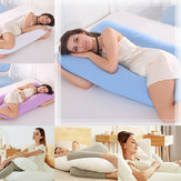 130X70CM U Shape Pillows Comfortable Body Pillow Women Side Sleepers Cushion