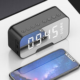 3 In 1 Wireless Stereo Hifi bluetooth Speaker Alarm Clock Phone Holder Built-in HD Mic Support TF Card FM
