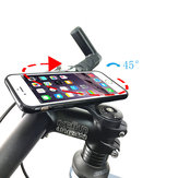 Bakeey Universal Bicycle Mobile Phone Holder Silicone Motorcycle Bike Handlebar Stand Mount Bracket Mount Phone Holder for iPhone Xiaomi