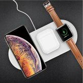 3-in-1 Qi Wireless Charger Fast Charging Phone Chager For Smart Phone Apple Watch Series Apple AirPods
