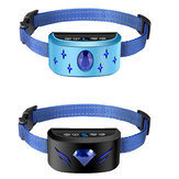 DROW® Pet Dog Intelligent Training Collar Oplaadbaar Puppy Anti-blafhalsband