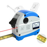 40M Laser Rangefinder + 5M Anti-fall Steel Tape Metric and Inch Tape measure High Precision Distance Meter