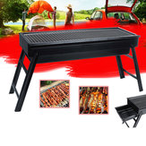 Opvouwbare BBQ Grill Houtskool Barbecue Camping Picknick Grill Fornuis
