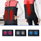 S-3XL Unisex Electric Vest USB Heated Heating Pad Winter Coat Jacket Warm
