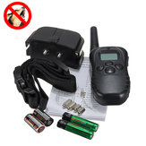 Hundetraining Stop Bellen Kragen LCD Display Fernbedienung 100 Stufen