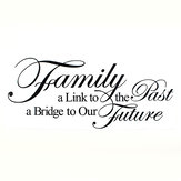 Family A Link To The Past A Bridge To Our Future PVC Wallpaper 8025