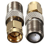 Alloy Steel F Female To SMA Male Plug RF Coaxial Adapter Connector