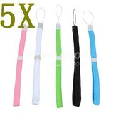5 Color Safety Hand Wrist Strap Set For Wii DS 3DS PSP