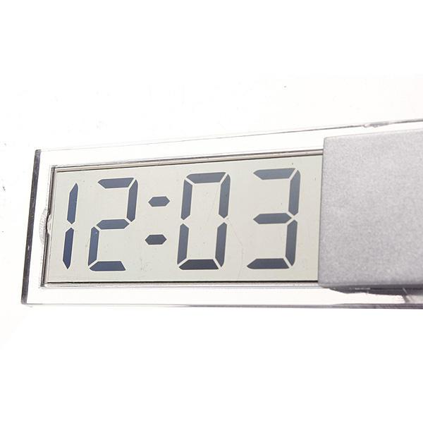 Aspiration gobelet voiture tableau de bord pare-brise écran lcd numérique mini-horloge