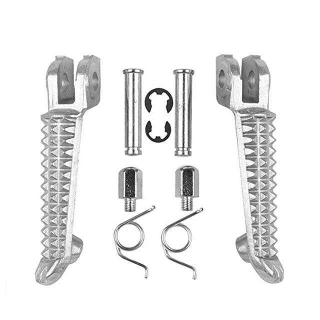 Motorcycle Front Footrest Pedal Foot Pegs for Yamaha YZF R1 R6 R6S