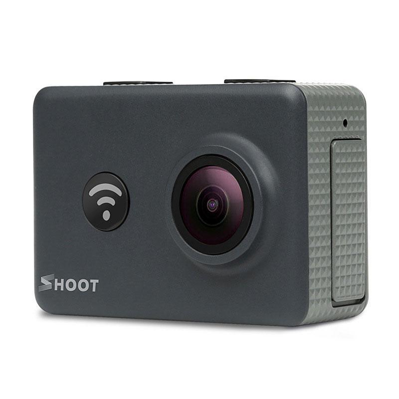شوت XTGP436 2 بوصة شاشة 16mp 1080P 30FPS 170 درجة زاوية واسعة ويفي الرياضة عمل الكاميرا مع البعيد