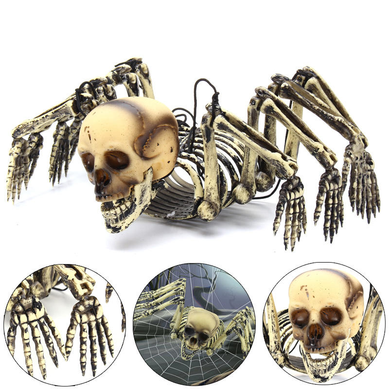 Halloween Party Home Decoration Hangging Octopus Skeletons Horrid Scare Scene Toys Props