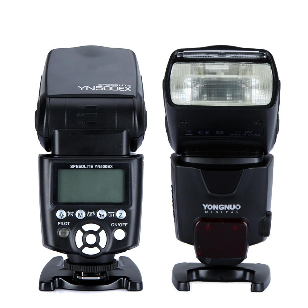 Yongnuo YN500EX High-speed sync HSS Flash Speedlite with Mini Stand for Canon DSLR