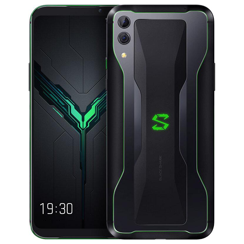Xiaomi Tubarão Preto 2 6,39 polegadas 48MP Dupla Câmera Traseira 12 GB 256 GB Snapdragon 855 Octa Núcleo 4G Gaming Smartphone