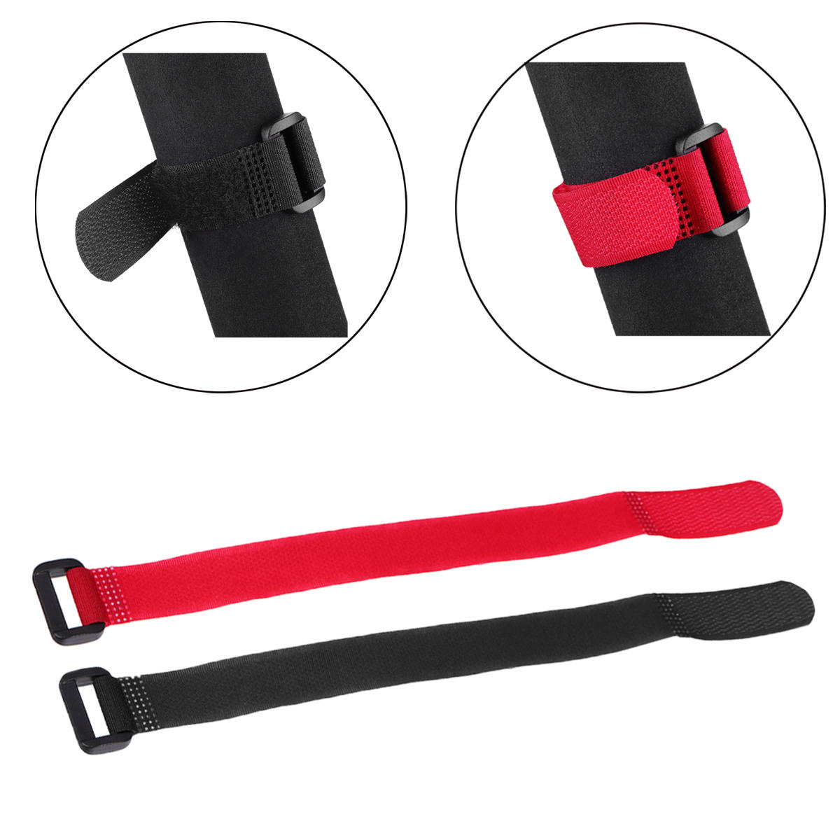 BIKIGHT Universal Magic Sticker Strap Flambement adhésif Bande pour scooter électrique Xiaomi M365