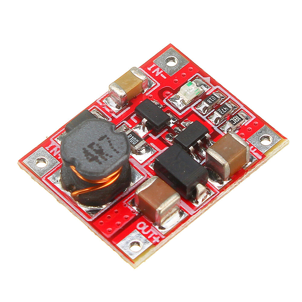 3V/3.7V To 5V 1A Lithium Battery Step Up Module Board Mini Mobile Power Boost Charger Module With Undervoltage Indication
