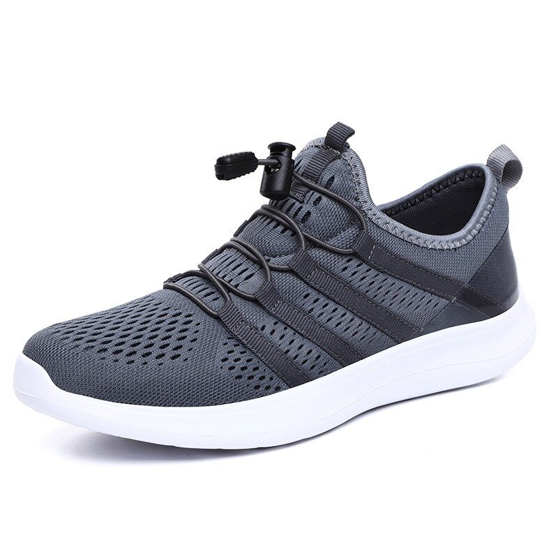 Men Breathable Mesh Lightweight Casual Soft Running Sport Sneakers