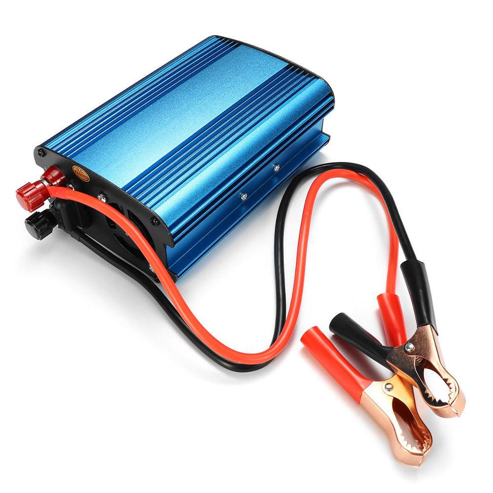 Xuyuan 12V / 24V إلى 220V 3000W / 4000W سيارة القوة العاكس موجه جيبية USB محول