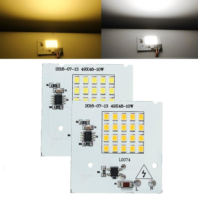 10W SMD2835 Outdoor Smart IC LED lampen COB Chip Bead Floodlight Lamp 220V