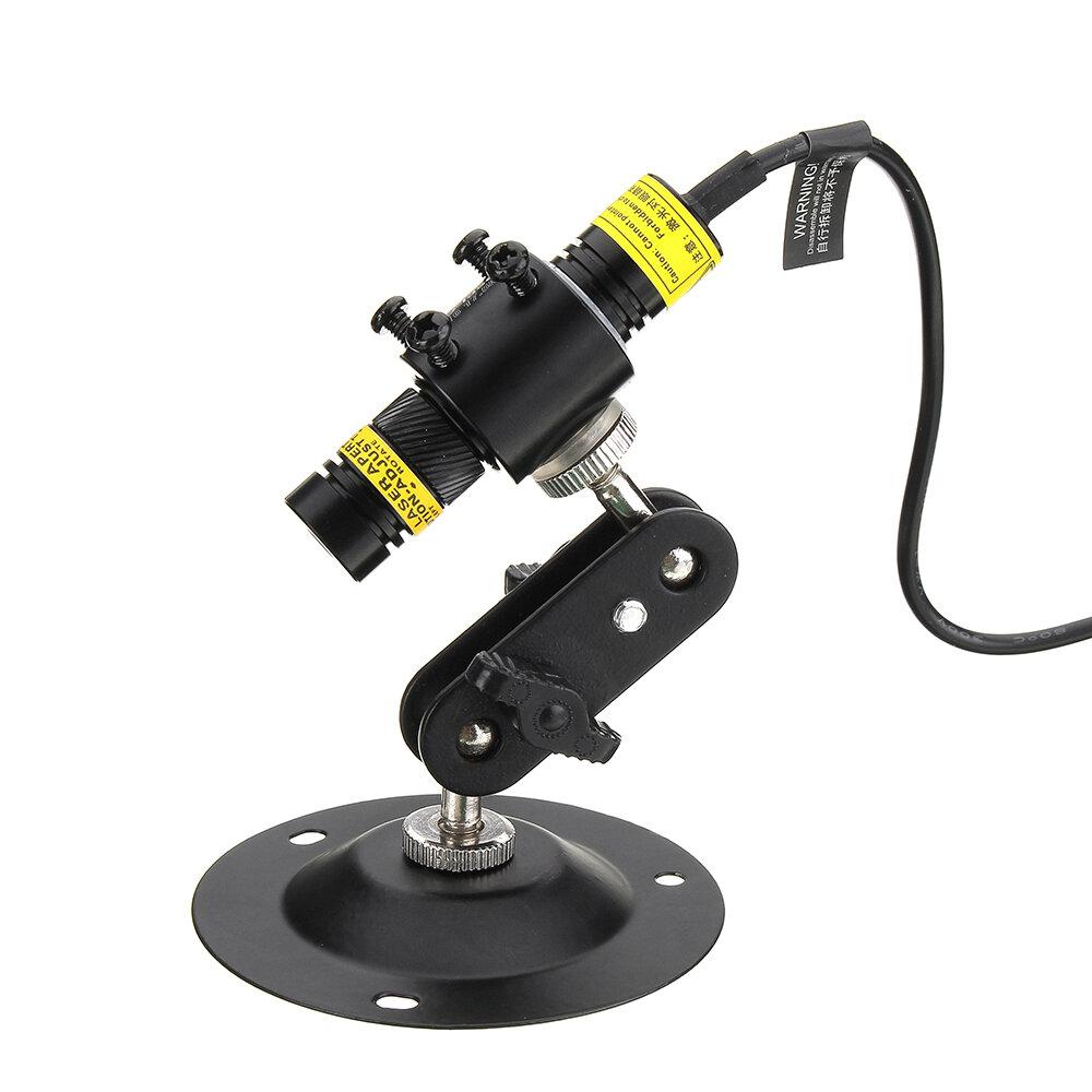 MTOLASER 100mW 648nm Red Line Láser Generador de módulo Enfoque variable Alineación de posición de marcado industrial