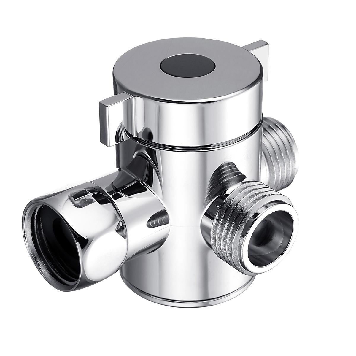 """Multifunktions-3-Wege-Duschkopf-Umschaltventil G1/2 """"Drei Funktionsschalter-Adapterventil"""