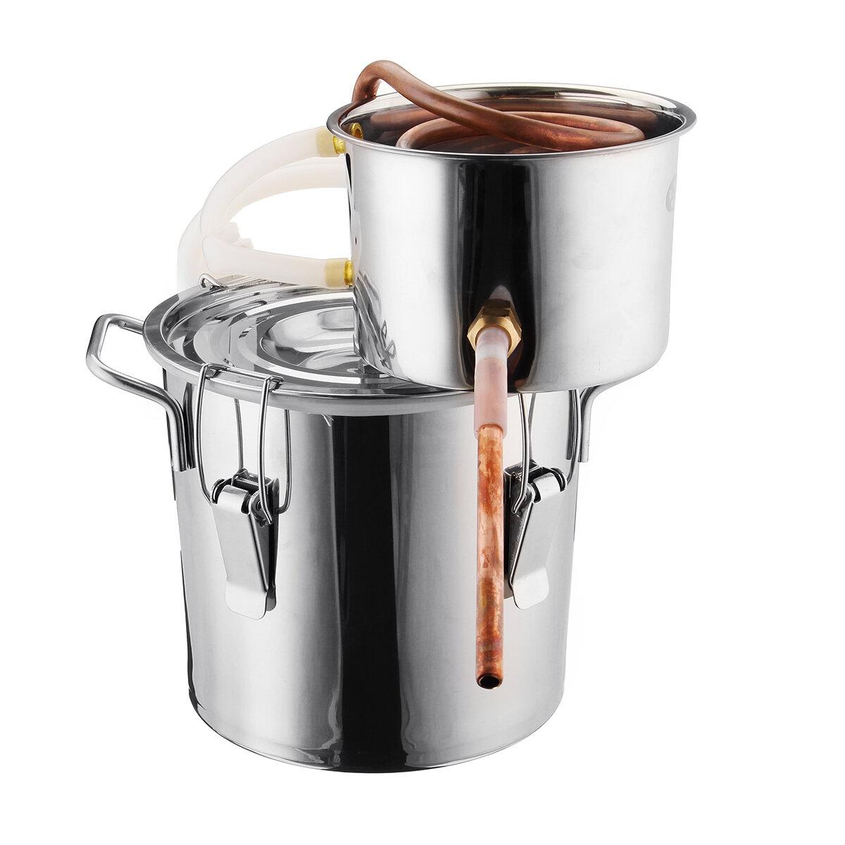 ツール家庭用バーセットを作る6Lアルコール水蒸留器の銅のフルーツのアルコール飲料