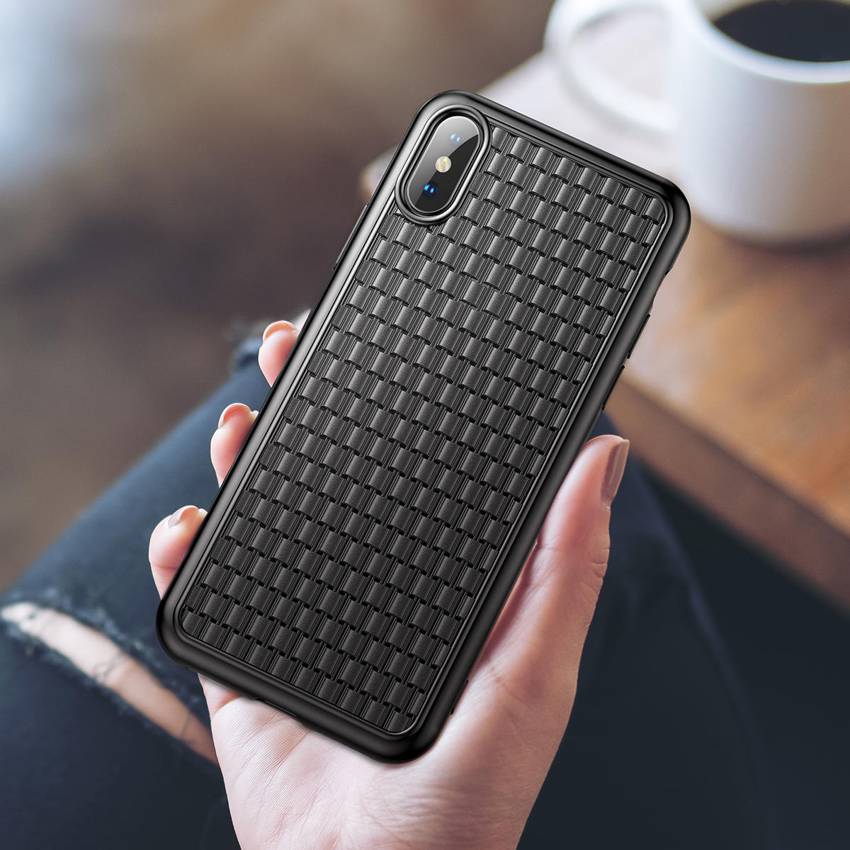 Baseus Protective Case For iPhone XS Heat Dissipation Soft TPU Back Cover