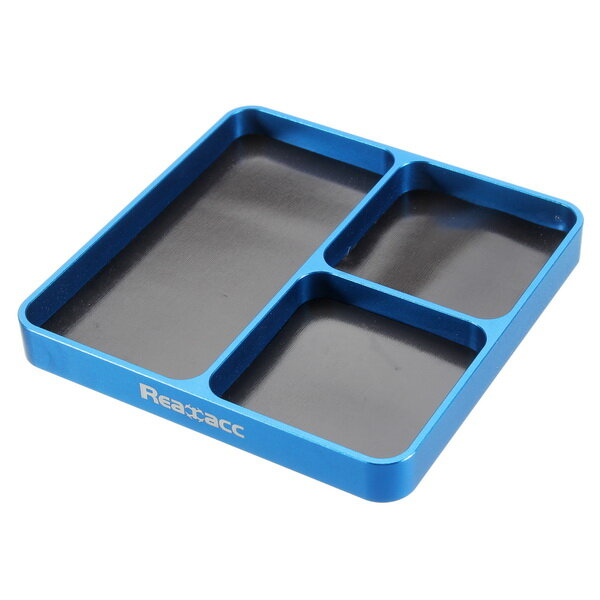 Realacc Multi-Purpose Tray With Magnetic Inserts For RC Models