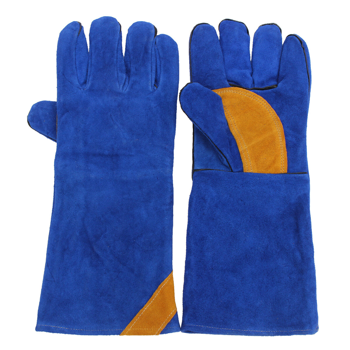 16inch Paire Long Heavy Duty Double renforcée Palm Gants Soudure Gants Soudeur