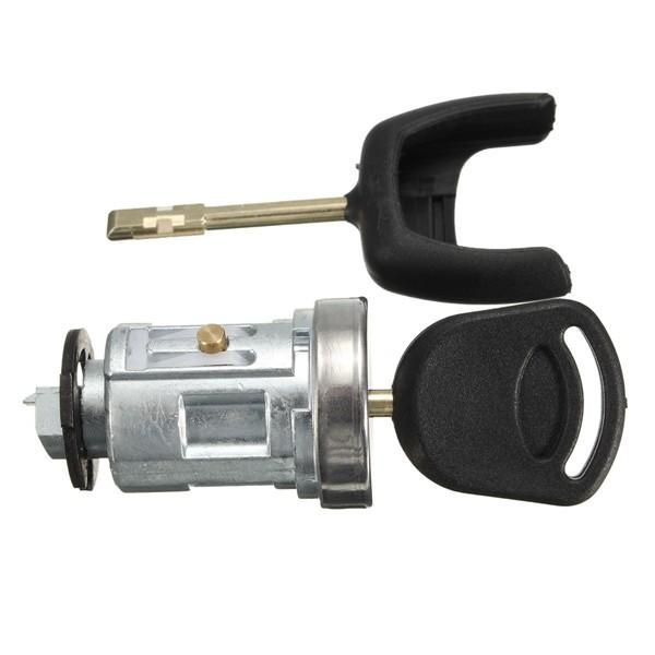 Ignition Barrel Cyclinder Lock Cylinder Switch with 2 Keys For Ford Tansit MK7