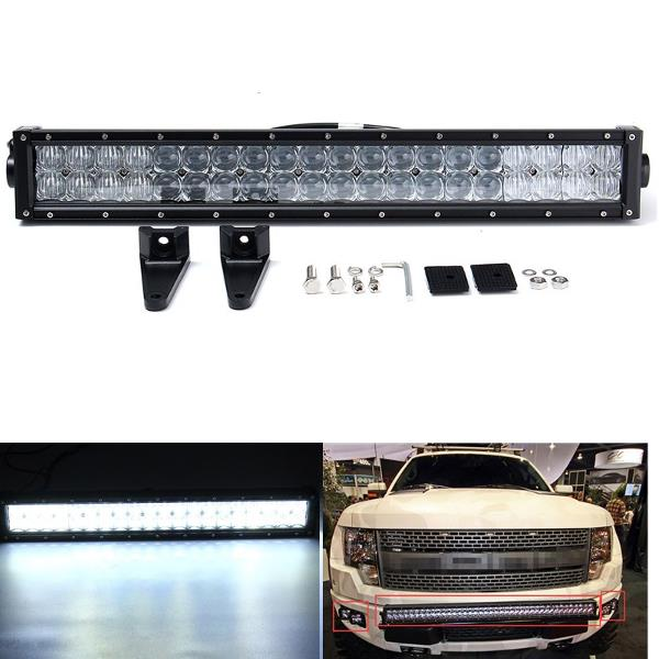 5D 22inch 120W 6000K LED Work Light Bar Spot Flood Combo для внедорожника ATV