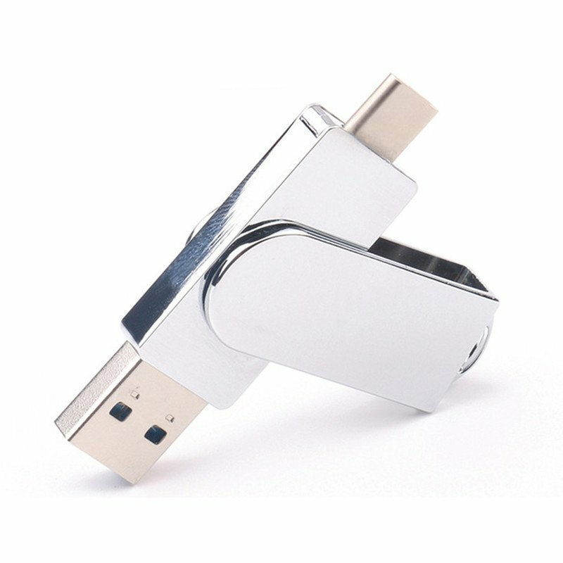 Universal Metal 32GB 64GB Type-c OTG USB 3.0 U Disk Flash Drive for Xiaomi Mobile Phone Tablet PC