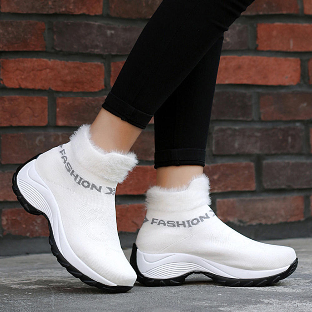 Plus Size Casual Comfy Lining Outdoor Snow Boots