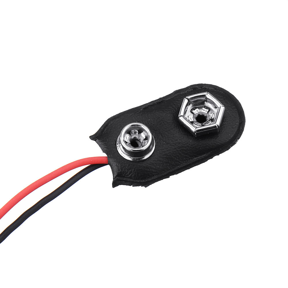 3pcs DC 9V Battery Button Power Plug Mega 2560 1280 UNO R3 132 9V Battery Buckle I Type Geekcreit for Arduino - products that work with official Arduino boards