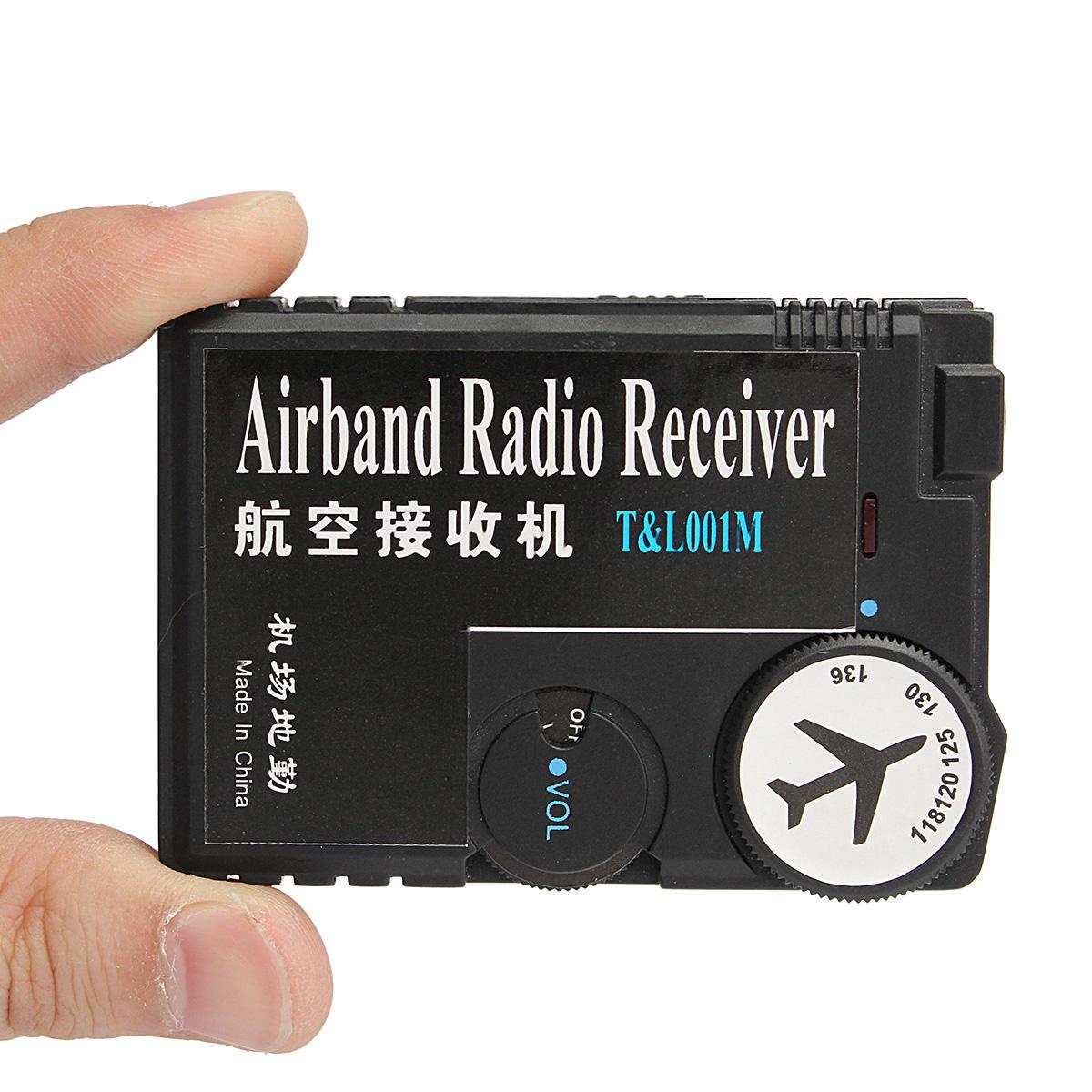 Receptor da aviação do receptor de rádio do ar Banda de 118MHz-136MHz para a terra do aeroporto