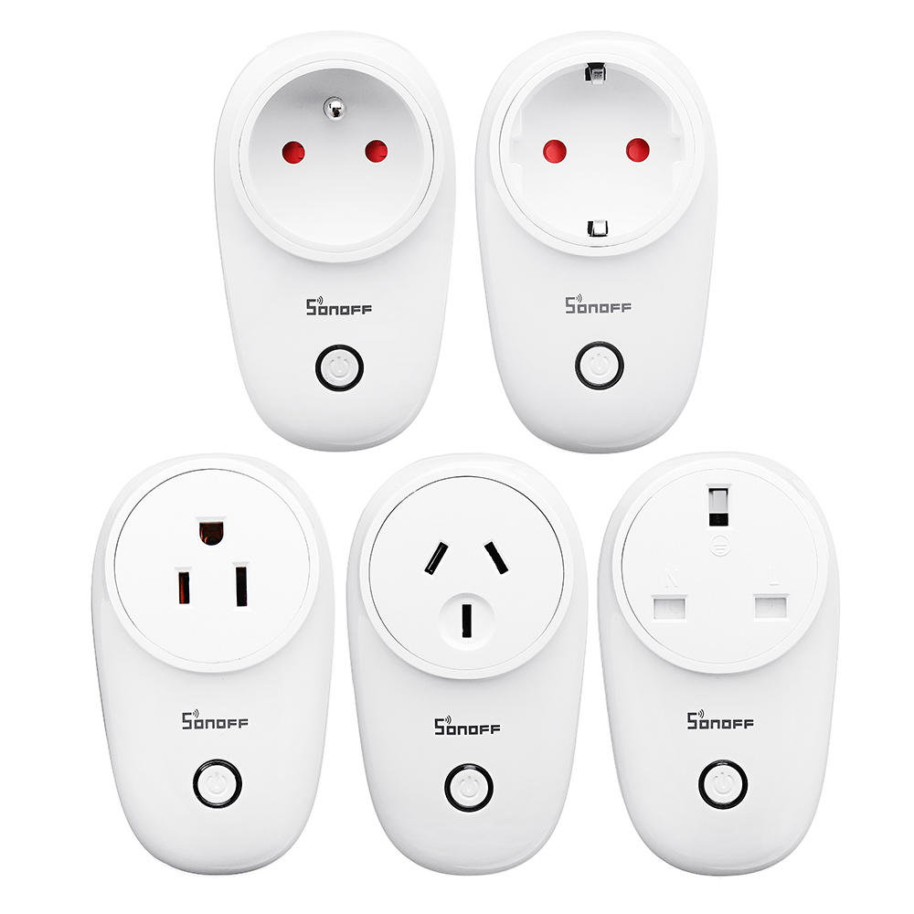 SONOFF® S26 10A AC90V-250V Smart WIFI Socket US/UK/AU/EU Wireless Plug Power Sockets