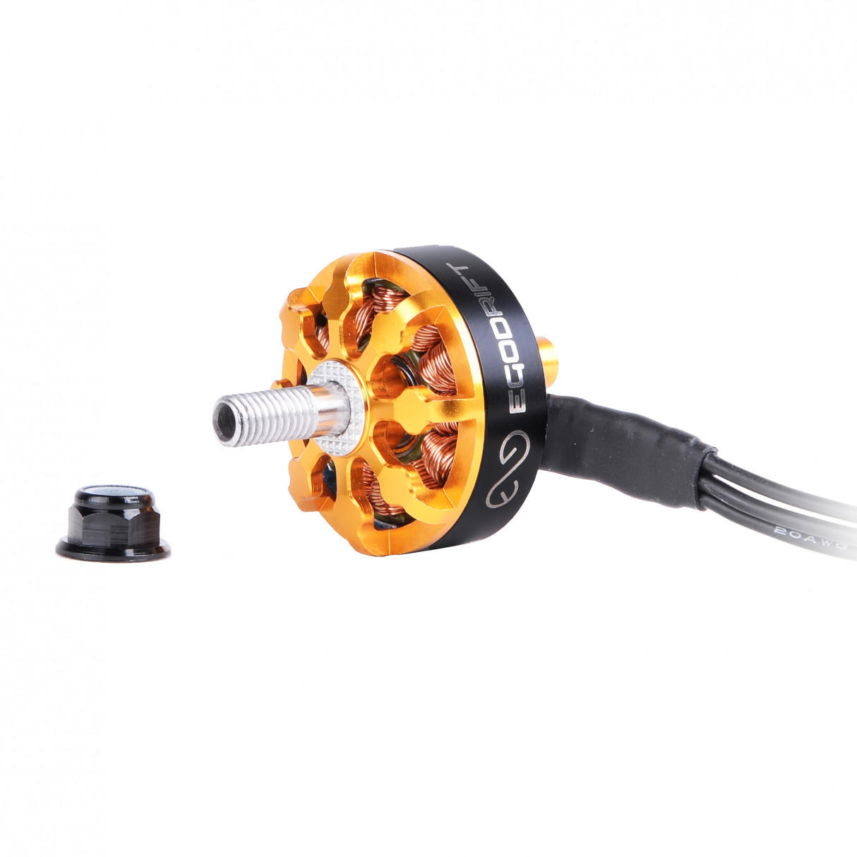 EGODRIFT ATOM BO MB BABY GOLD EDITION 2306 1700/2400 / 2700KV Motor Sin escobillas para RC Drone FPV Racing