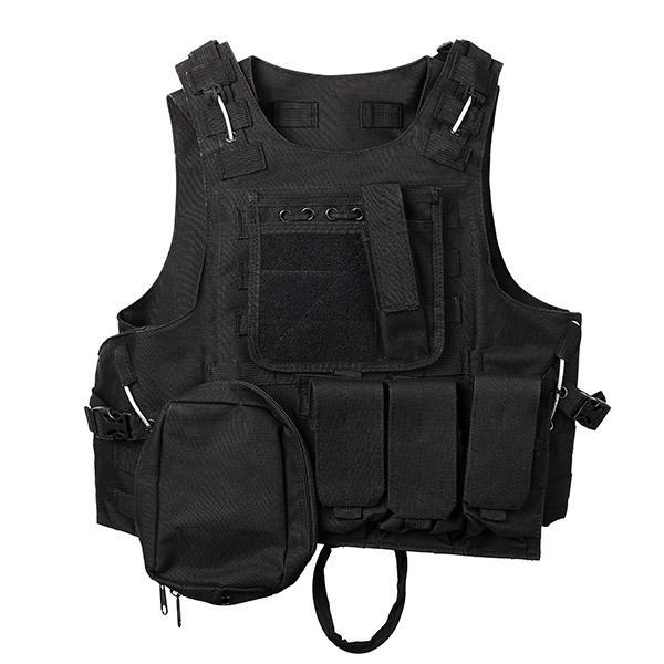 Molle Commando Amphibious Vest Field Equipment Tactical Vest CS Camouflage Protective Clothing