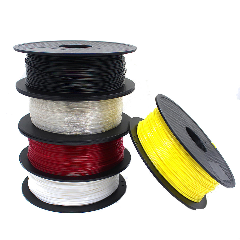 CCTREE® Black/White/Red/Transparent/Yellow 1.75mm 1Kg/Roll TPU Filament for 3D Printer Reprap
