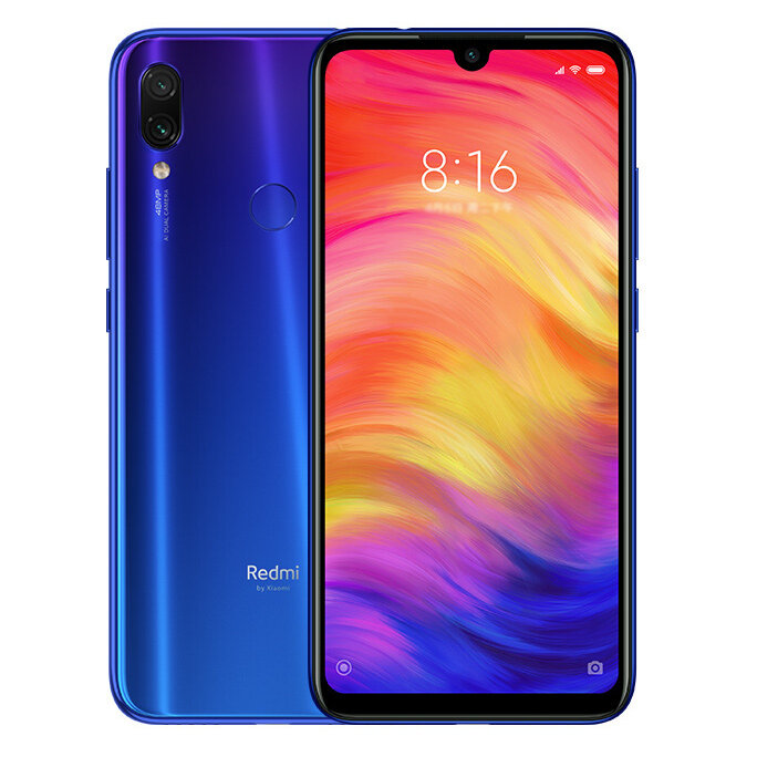 Xiaomi Redmi Nota 7 Global Version 6,3 pollici 4 GB RAM 64GB rom Snapdragon 660 Octa core 4G Smartphone