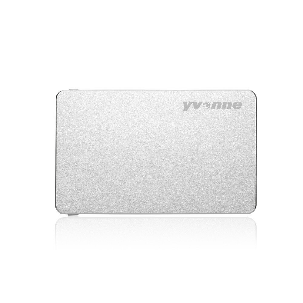 Yvonne HD219 2.5 Inch SSD HDD Enclosure Solid State Drive Hard Drive Disk Enclosure with SATA to USB 3.0 for Windows 98SE ME 2000 XP VISTA Mac OS