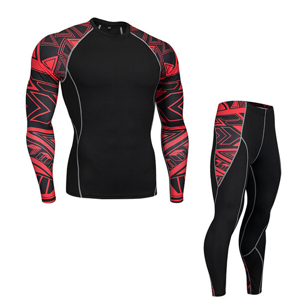 PRO Sports Basketball Training Suit Outdoor Speed Dry Breathable Casual Stitching Color Gym Suits