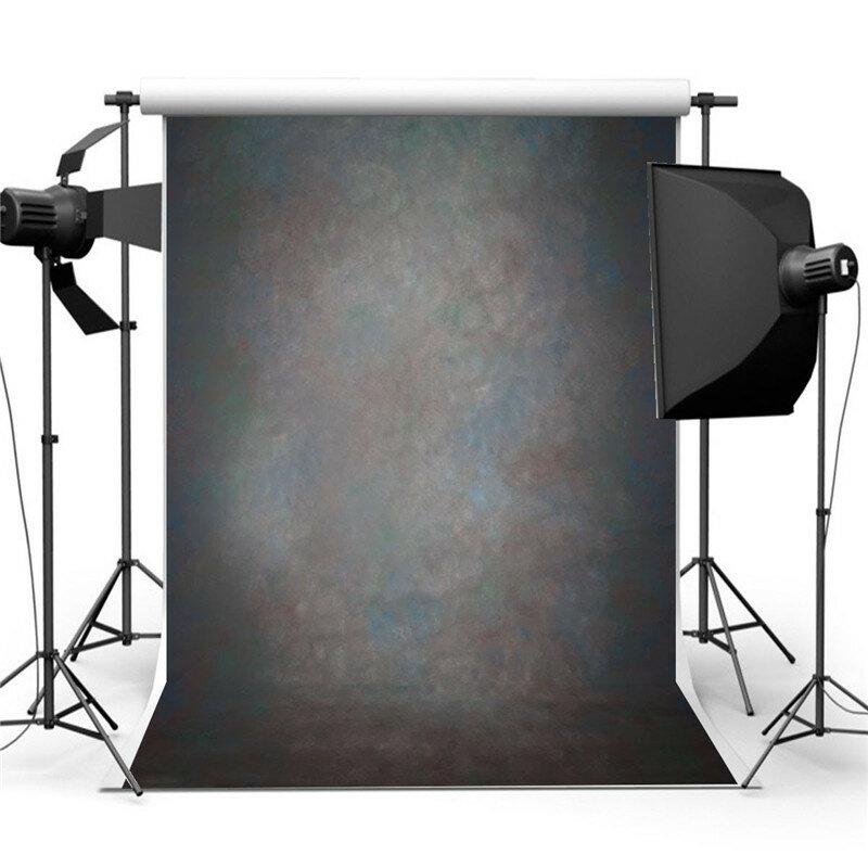 5x7ft الرجعية الأسود خلاصة خلفية استوديو التصوير خلفية الصورة الدعائم