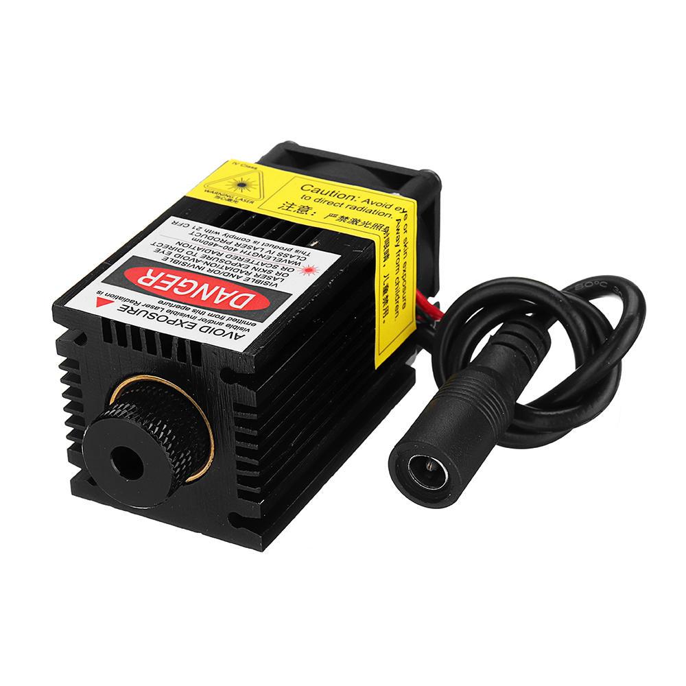 EleksMaker® LA03-2500 Module Laser Bleu de 445nm 2500mW avec Dissipateur pour la Machine de Gravure de Laser de DIY