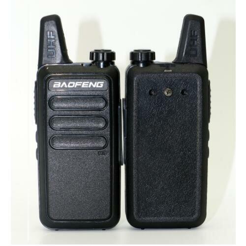 Baofeng BF-R5 Mini Walkie Talkie 5W vermogen 400-470 Mhz Frequentie UHF Handheld Radio Intercom Tweeweg Radio