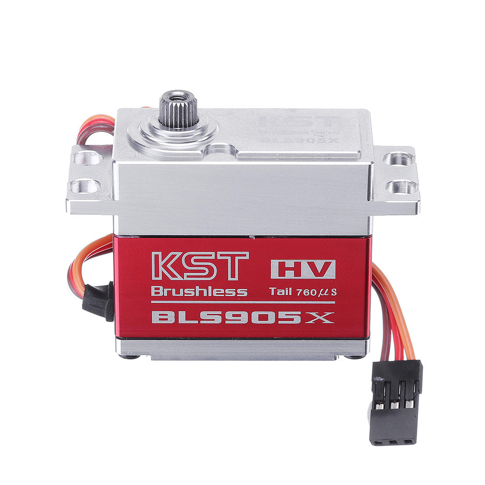 KST BLS905X Brushless Metal Gear Head-Locking Digital Servo For 550-800 Class RC Helicopter RC Car