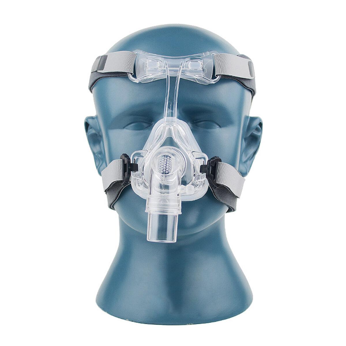 S / M / L neusmasker NM2 voor CPAP-maskers Interface slaap snurken riem met hoofddeksel